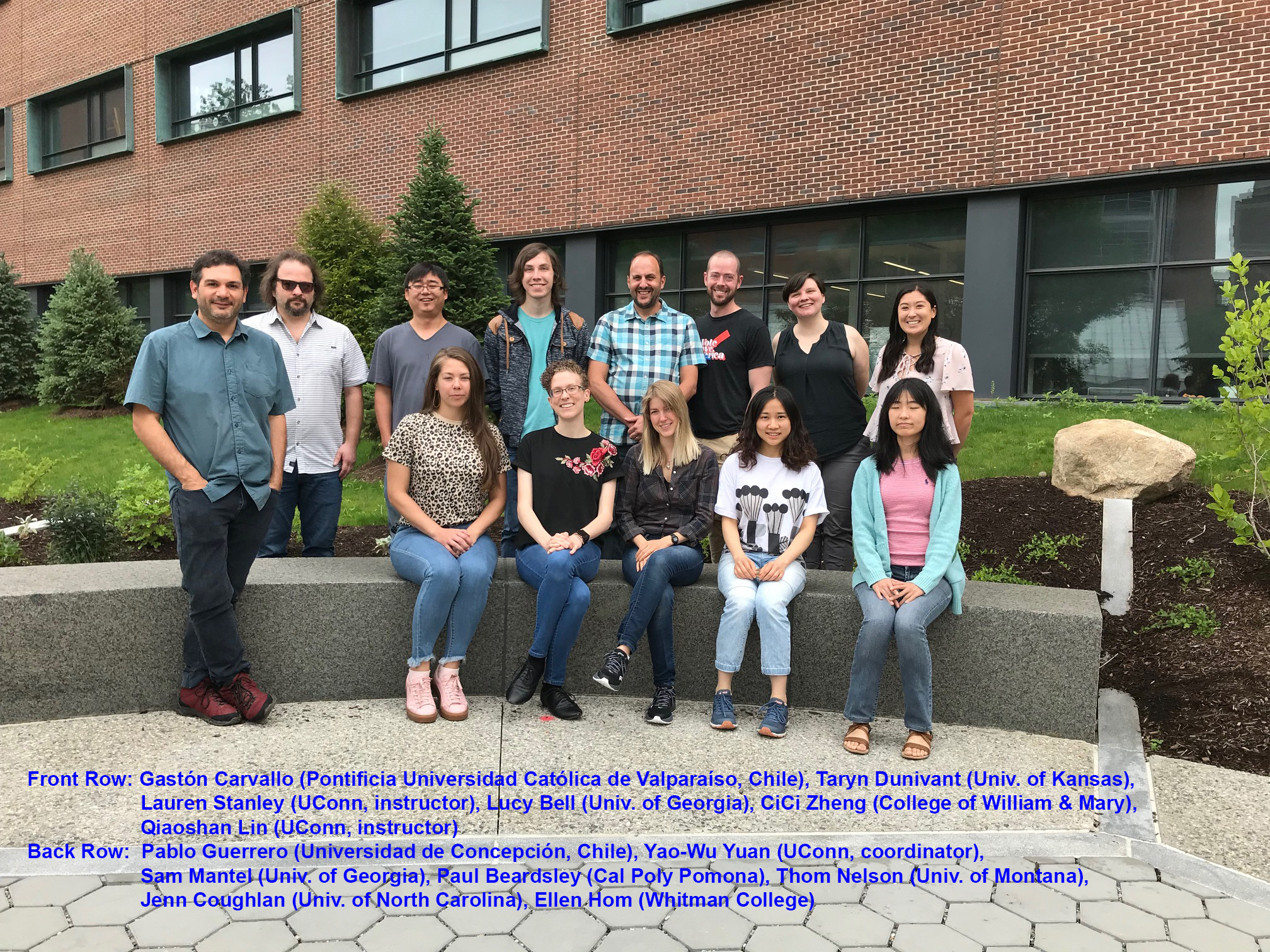 2019: The first Mimulus Functional Genomics Short Course (Storrs, CT)
